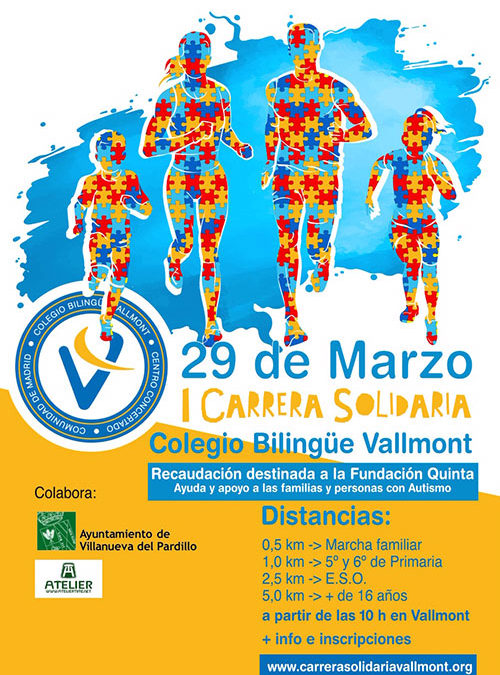 Carrera solidaria Vallmont